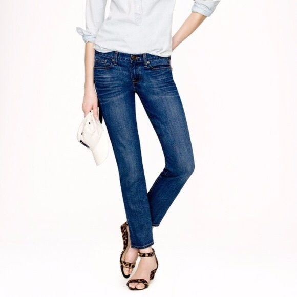 J. Crew Denim - Women's Size 25 J. Crew Cropped Matchstick Jeans